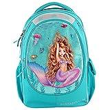 Depesche 10395 Schulrucksack Fantasy Model Mermaid, türkis, ca....