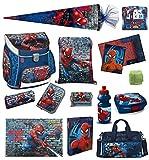 Familando Marvel Spiderman Schulranzen-Set 21tlg. Scooli Campus...