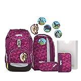 ergobag pack Set - ergonomischer Schulrucksack, Set 6-teilig -...