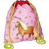 Die Spiegelburg 14524 Turnbeutel rosa Mein Kleiner Ponyhof