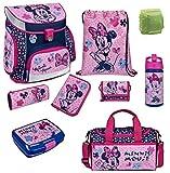 Familando Scooli Schulranzen-Set rosa Disney Minnie Maus 9 TLG....