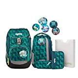 Ergobag Pack WunderBär, ergonomischer Schulrucksack, Set...