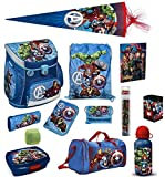 Familando Avengers Schulranzen-Set 16tlg Scooli Campus Fit mit...