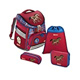 Step by Step Comfort Schulranzen-Set 4-tlg Horse Family horse...