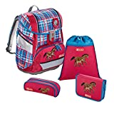 """Step by Step Schulranzen-Set 2IN1 """"Horse Family"""" 4-teilig,..."""