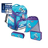 Step by Step Comfort Schulranzen-Set 4-tlg. Happy Dolphins happy...