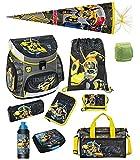 Familando Transformers Bumblebee Schulranzen-Set 10 TLG. mit...