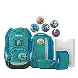 Ergobag Pack MonstBärfreunde, ergonomischer Schulrucksack, Set...
