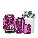 Ergobag Pack Bärlissima, ergonomischer Schulrucksack, Set...