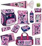 Familando Scooli Schulranzen-Set Disney Minnie Maus 18-TLG. mit...