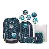 Ergobag Pack BlubbBär, ergonomischer Schulrucksack, Set...