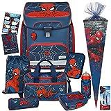 Spiderman - SCOOLI Undercover EasyFit Schulranzen-Set 12tlg. mit...