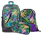 Schulrucksack Set Mädchen 3 Teilig - Schultasche ab 3. Klasse -...