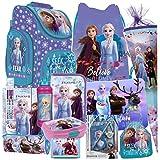 Frozen II 2 EISKÖNIGIN 20 Teile Set Schulranzen RANZEN...